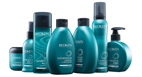 redken curvaceous line products