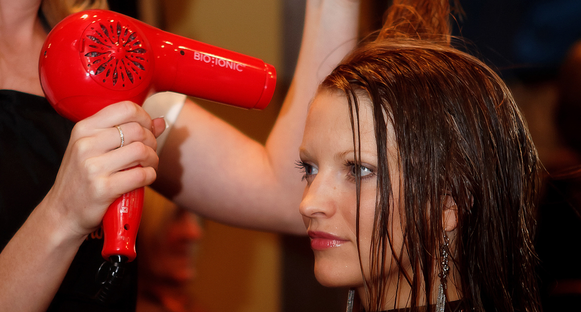 achieve volume with your blow dryer