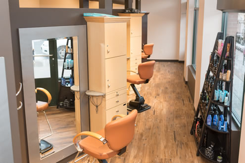 Inside Serenity Salon